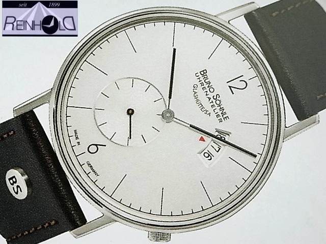 Bruno Söhnle Glashütte Herrenuhr Rondo Big 17-13053-261