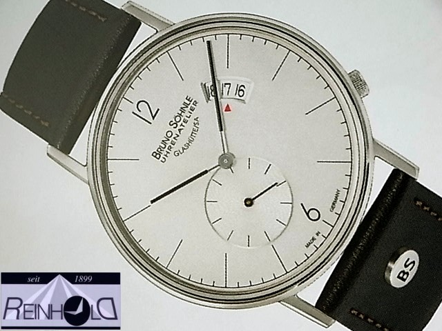 Bruno Söhnle Glashütte Herrenuhr Rondo Big 17-13053-261  h