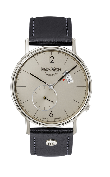 Bruno Söhnle Glashütte Herrenuhr Rondo Big 17-13053-861