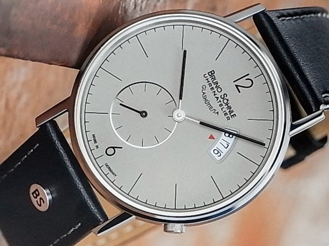 Bruno Söhnle Glashütte Herrenuhr Rondo Big 17-13053-861  q
