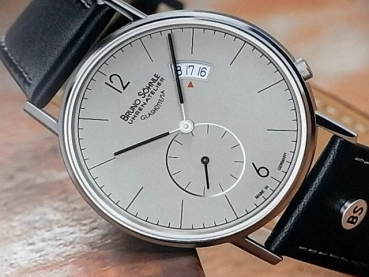 Bruno Söhnle Glashütte Herrenuhr Rondo Big 17-13053-861 h