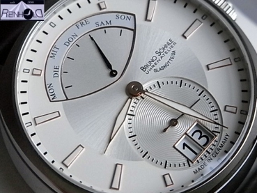 Bruno Söhnle Glashütte Herrenuhr FACETTA 17-13155-245